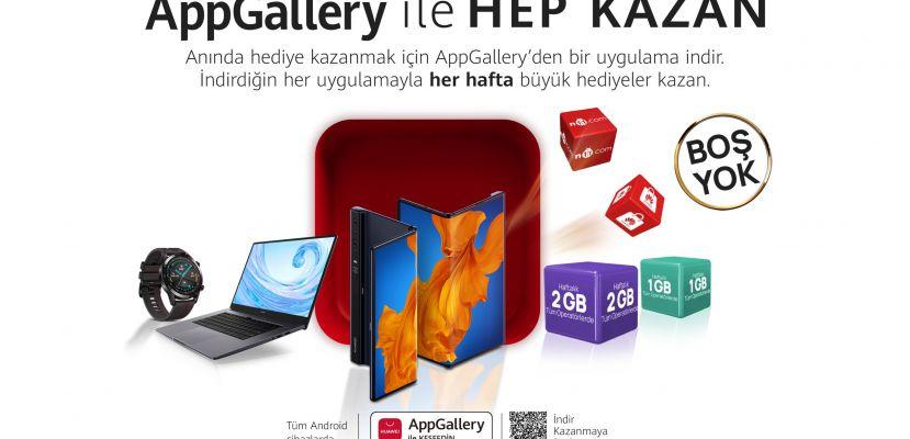 AppGallery ile Hep Kazan, AppGallery'de Boş Yok!