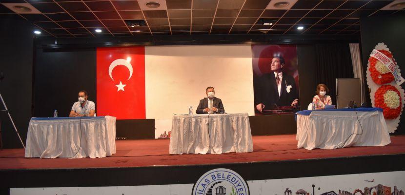 Milas Belediyesi'nin Eylül ayı olağan meclis toplantısı tamamlandı!