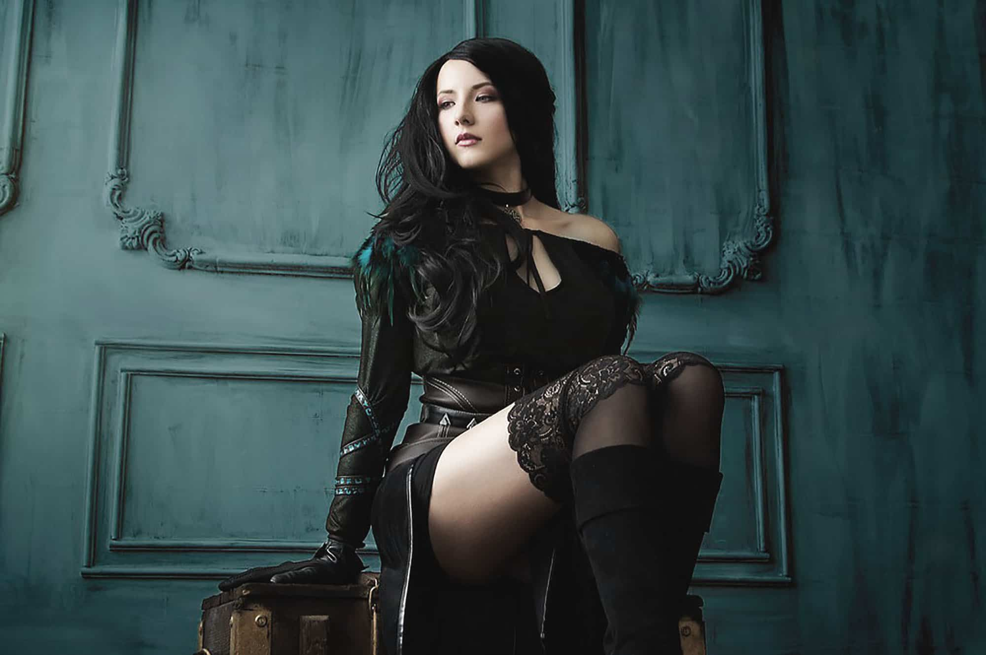 Most Beautiful The Witcher Yennefer Cosplay